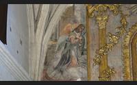 sassari chiesa di sant antonio abate spuntano gli antichi affreschi