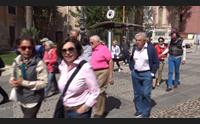 cagliari meta di pasqua per i turisti centro storico invaso