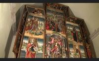 tuili il retablo salvo finanziato il restauro del capolavoro del 500