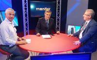 nicola scano con i due candidati alla segreteria regionale pd