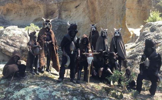 le maschere escalaplanesi dell associazione bois fui janna morti