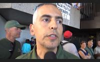 forestas la protesta dei mille a cagliari dipendenti pubblici a met