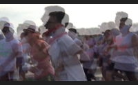quartu ecco la color run maratona scaccia pensieri per salutare l estate