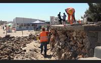 platamona a due anni dal crollo si ricostruisce la rotonda
