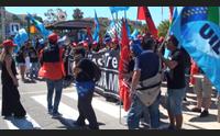 wind tre la protesta dei lavoratori incertezza sul futuro