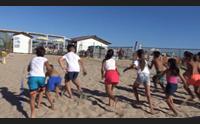 pula tutti a lezione di beach tennis come coniugare mare e sport