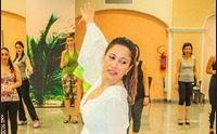 tamara nella sua scuola di ballo