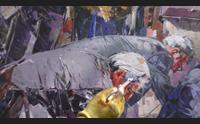 sant antioco una biennale di pittura europea per aiutare i volontari