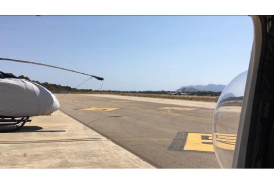 Elicottero Olbia : Operazione  mare sicuro la costa gallurese controllata
