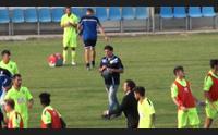 calcio l arzachena non concede il bis la viterbese s impone 3 1