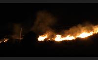 sant antioco in fumo 200 ettari a maladroxia evacuati alberghi e case