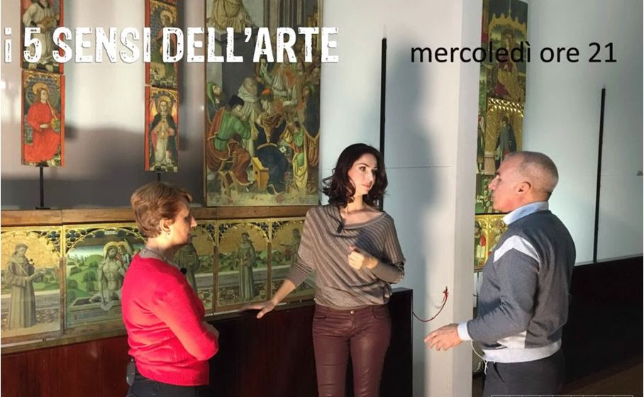 i 5 sensi dell arte backstage