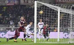 obi segna il secondo gol del torino infliggendo l ennesima sconfitta al cagliari