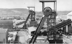 la miniera di serbariu quand era in piena attivit