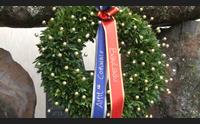 bauladu no al tricolore 4 novembre col rosso e il blu del gonfalone