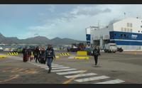 paura sul traghetto livorno olbia urta un cargo e poi riparte
