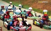 partenza di una gara di karting