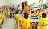 mariangela con i piccoli allievi della scuola dell infanzia san giuseppe a villasor