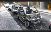 auto a fuoco emergenza incendiari per noia costi molto alti