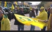 santa giusta coldiretti riporta i trattori in piazza ci devono 100 milioni