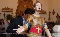 la vestizione del santo a giorgino