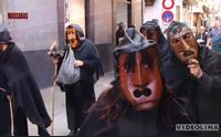 le maschere sarde ad ajaccio
