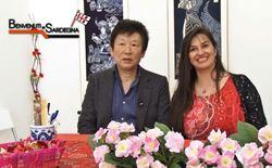 chen xiangming con la mediatrice culturale chiara sini