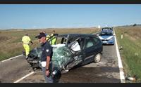 sanluri tragico scontro fra auto un morto e un ferito