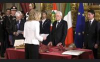la ministra lezzi a cagliari prima istituzionale del nuovo governo