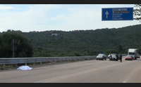 olbia golfo aranci schianto sul guard rail muore motociclista