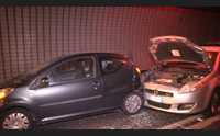 maxi incidente in galleria a nuoro sei veicoli coinvolti e due feriti