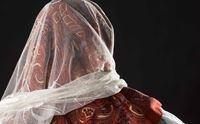 particolare dell abito di meana sardo