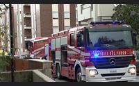 sassari appartamento in fiamme 78enne in rianimazione 2 vigili intossicati