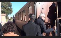 l annuncio in carrozza fondi certi per il rilancio del trenino verde