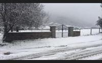 maltempo in gallura neve a tempio pioggia e vento a olbia