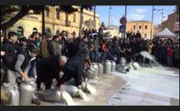 oristano latte in piazza roma sulla 131 blocchi a marrubiu e uras