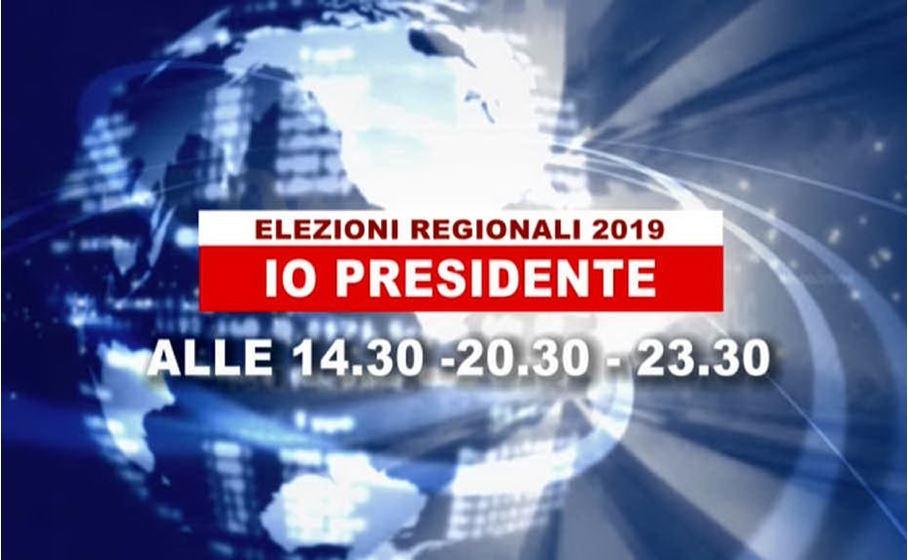 elezioni regionali 2019 io presidente