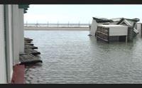 mareggiata al poetto danni agli stabilimenti cabine trascinate via