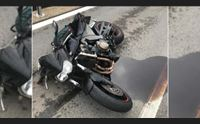 triste pasquetta sulle strade muore motociclista grave un altro