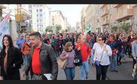 cagliari in 2500 per il 25 aprile assenti le istituzioni regionali