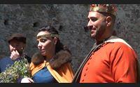 aria di medioevo a burgos nel castello si celebra il primo matrimonio