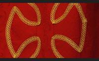 la vestizione del santo le mani delle consorelle aprono la festa solenne