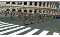 la banda della brigata sassari protagonista alla festa della repubblica