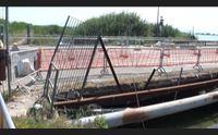 quartu si accelera per la ricostruzione del ponte lavori in 21 giorni