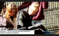 sassari spaccio di droga ai ragazzini ai giardini pubblici tre arresti