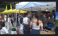 cagliari piazza del carmine una nuova vita con il wine e food festival