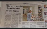 vertice a nuoro sui piccoli ospedali il sottosegretario serve pi organizzazione prima