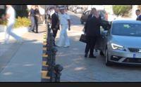 il presidente mattarella stamani a genova poi il rientro a la maddalena