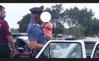 quartu bimba lasciata in auto per mezz ora denunciato il padre