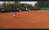 tennis anna floris campionessa italiana nei campi di monte urpinu